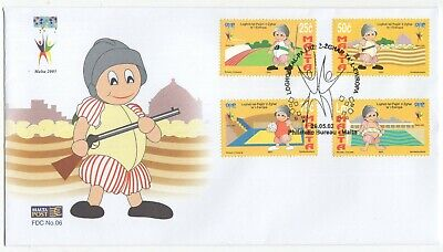 MALTA  2003  Games of the Small States    Unaddressed First Day Cover  Ref:3609