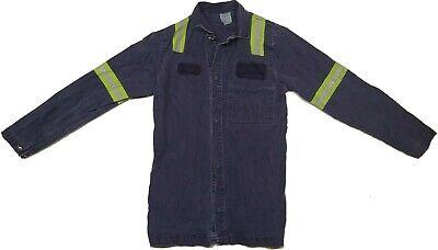 Welding Jacket Fr Medium Tall Fire Resistant Made In Usa High Vis Reflective