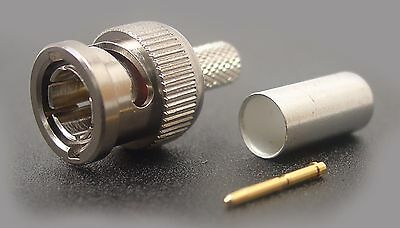 Brand New ADC BNC-5 Straight 75 Ohm Connector Pack of 10