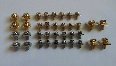 AMPLIFIER / AMP POWER AND SPEAKER TERMINAL SCREWS 36 PIECE AMP PACK