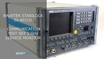 Wavetek Stabilock Si-4031d Communication Test Set 1 Ghz Service Monitor Ref G