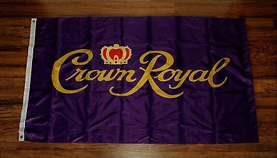 Crown Royal Flag Canadian Whisky Pub Bar Advertising Banner Sign Whiskey 3x5 New