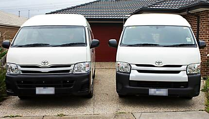 Van Minibus Rental Hire Transfers Tours 8 and 12 Seater
