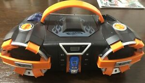 Hot Wheels stereo boombox