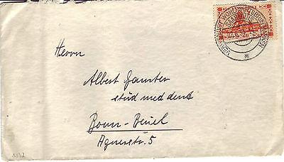 Saargebiet Bedarf Brief : Saarlouis 22.06.1934