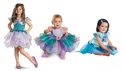 NWT THE LITTLE MERMAID ARIEL DELUXE HALLOWEEN COSTUME - 6-12M 12-18M 2T 3T 4T - Mermaid Costume 2t