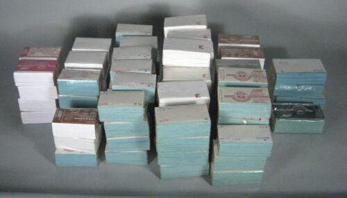 Lot 55 + Parcel Papers Packs White Light Dark Blue Mehta Super Deluxe 2 1/2 3 4