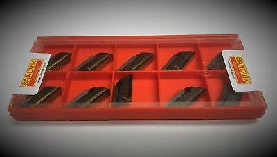 Sandvik Knux 160410l12 4225  Carbide Inserts  Knux 16 04 10l12 4225 10pcs