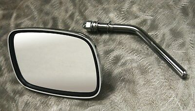 Chrome Plated Die Cast Mirror For All H-D V-Twins 1967 & Later, OEM 91875-70A