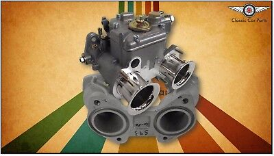 Austin Sprite FAJS 40 DCOE (Weber Copy) Carburettor Kit - Reconditioned Manifold comprar usado  Enviando para Brazil