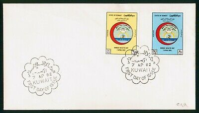 Mayfairstamps Kuwait FDC 1982 World Health Day Combo First Day Cover wwo_57769