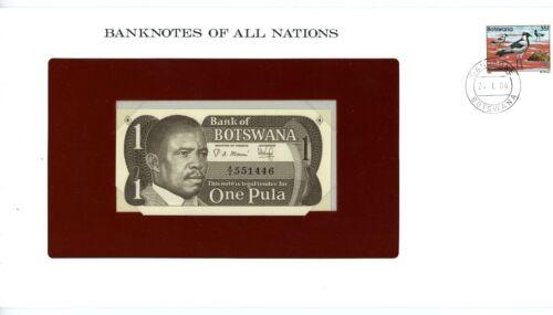 Botswana ... P-6 ... 1 Pula ... ND(1983) ... *UNC*Presentation Envelope.