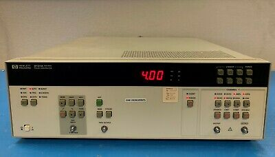 Hp 8131a 500mhz Pulse Generator With Option 001
