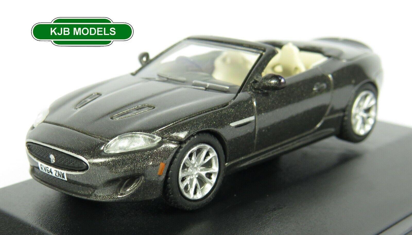 BNIB OO GAUGE OXFORD 1:76 76XK005 Jaguar XK Stratus Grey Car