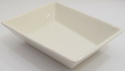 Arabia Finland Small Ceramic Serving Dish Bowl ABC Design White