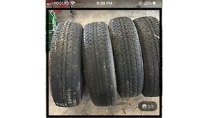 Need St 225  75  r 15 trailer tires