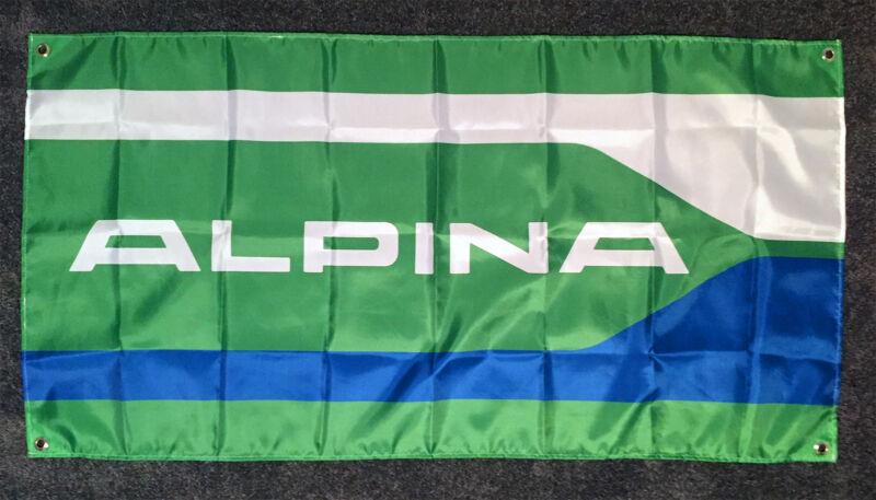 Alpina Flag Banner ~ bmw dinan m3 hartge m5 z3 E30 E46 ac schnitzer b7 b3 c1 d3