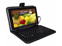 "KEYBOARD CASE cover stand FOR 7 9"" ANDROID PC TABLET NETBOOK WITH MICRO USB"