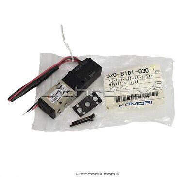 Magnetic Air Valve Vz3120-5gs-m5 Dc24v 3z0-8101-030 Komori