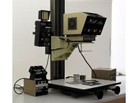 DeVere 504 colour enlarger with built-in analyser, cathode head, excellent condition, lots of extras