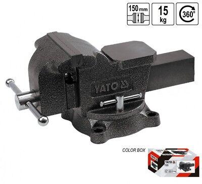 Vice Locksmith Parallel Workbench Swivel 360° 15 kg 150 MM
