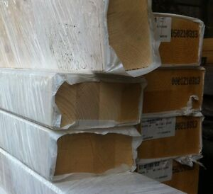 12 x 12 CM BSH Fichte Brettschichtholz / Leimholz - Balken - gehobelt und gefast