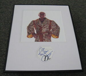 Ric-Flair-Signed-Framed-16x20-Photo-Display-JSA-The-Nature-Boy-WCW-WWF-WWE