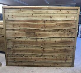 🌳High Quality Pressure Treated Wayneylap Garden Fence Panels