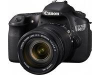 Canon 60d with 18-135mm lense - Receipt & Warranty -