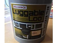 Luggable camping loo NEW