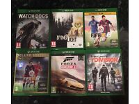6 Xbox one game bundle