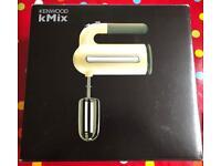 New never used Kendwood KMix hand mixer blender