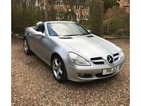 Mercedes SLK 200. Low mileage. Excellent Condition. 12 month MOT.