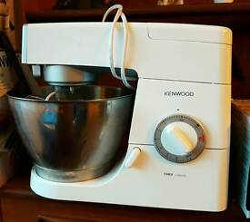 Kenwood Chef classic stand mixer with attachments