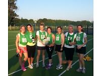 Netball players needed for 3 Divisions in SW6 3EW.