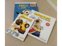 NEW 3 MINIONS Books