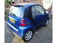 Tidy little Smart Car for sale - used very little in the last 2 years