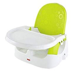 New Fisher Price booster seat