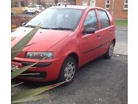 Fiat punto active 1.2 petrol car for sale with long mot