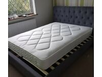 Orthopaedic Double Mattress. Opened but brand new and unused