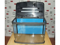 Love fish panorama 40 litre aquarium and full set up as new.