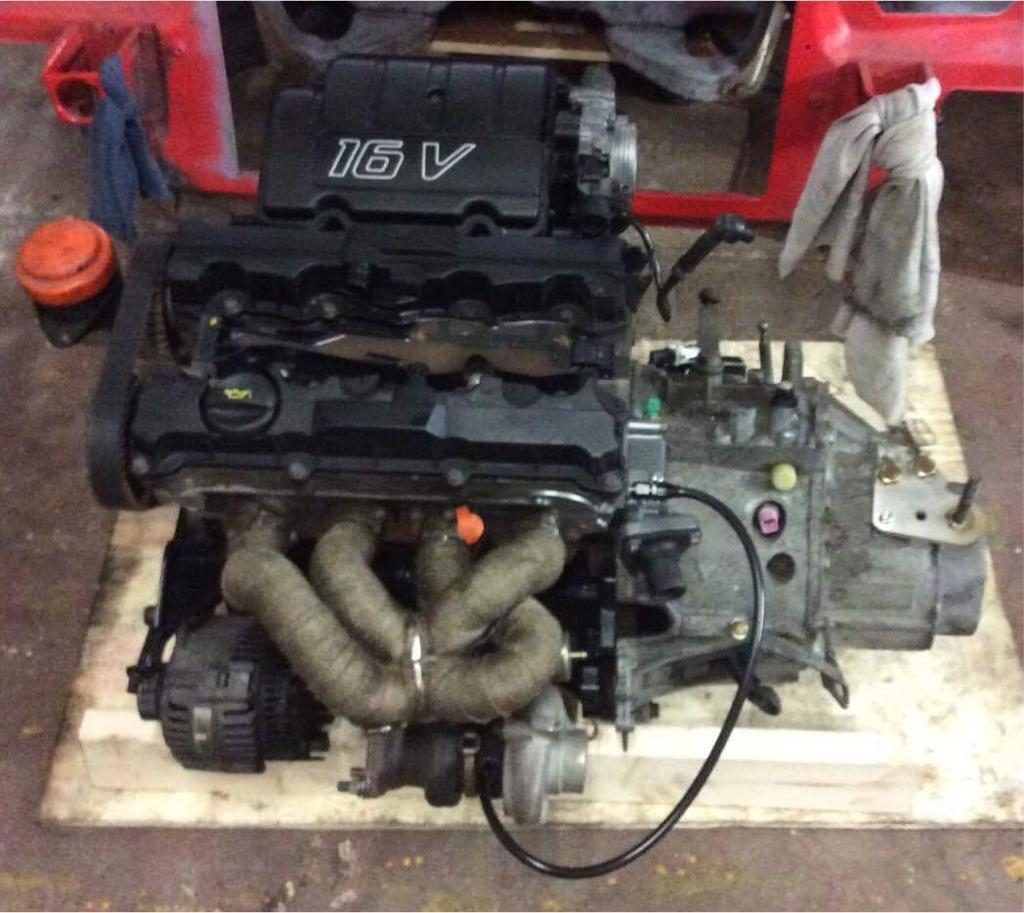 Saxo VTS Turbo Low Comp Engine (Fully Rebuilt high spec)