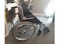 Brand new self propelled wheelchair