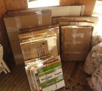 MOVING BOXES Qty: 125