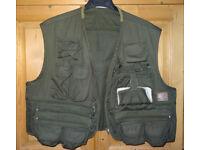 Fly fishing waistcoat/vest
