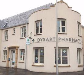 Pharmacy Assistant or Dispenser Kirkcaldy