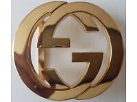 BELT BUCKLE GUCCI GOLD