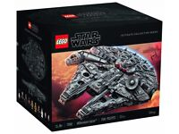 LEGO Star Wars Millennium Falcon 75192 UCS Rare Collectable BNIB Big Movie Fan Toy Sold Out at LEGO