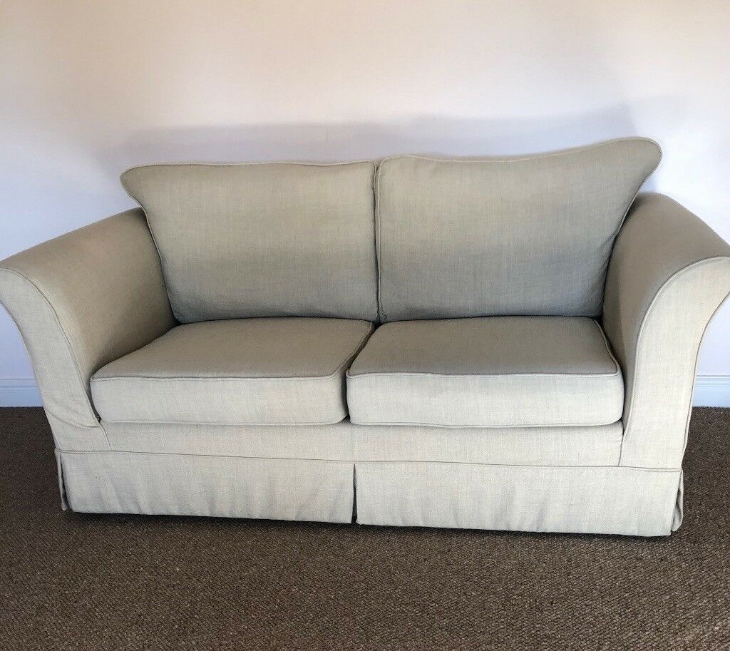 Marks And Spencer Leather Sofa: 2 X Identical Marks & Spencer Sofas (only One Now