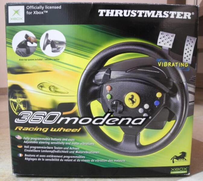 lenkrad thrustmaster racing wheel 360modena f r xbox one. Black Bedroom Furniture Sets. Home Design Ideas